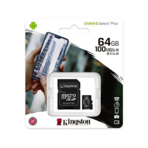 Memoria Micro Sd Kingston R4 64gb Clase 10