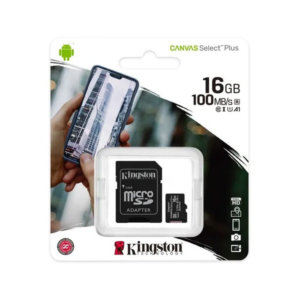Memoria Micro Sd Kingston 16gb (2 Unidades)