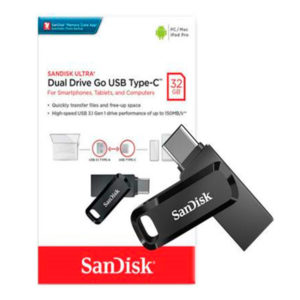 Pendrive Sandisk Ultra Dual Drive Go 32GB USB a Type-C DC3